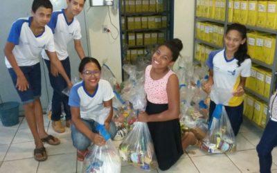 Escolas estaduais do Tocantins promovem ações de solidariedade