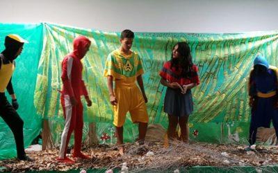 Projeto desenvolve protagonismo juvenil por meioda educação ambiental