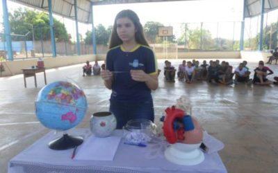 Estudante de escola pública do Tocantins é destaque em universidade de Brasília