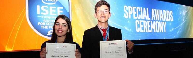 Estudantes de Baraúna recebem premiação em Los Angeles