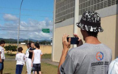 "Adolescentes de escola pública de Florianópolis viram ""cineastas"" de contos psicológicos"