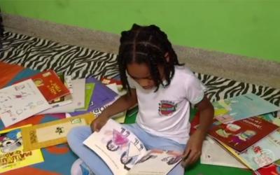 Com apenas 7 anos, estudante de escola pública de Piraí lança livro na Bienal do Rio