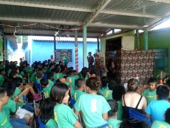 Projeto leva educação ambiental para 1,4 mil alunos em escolas