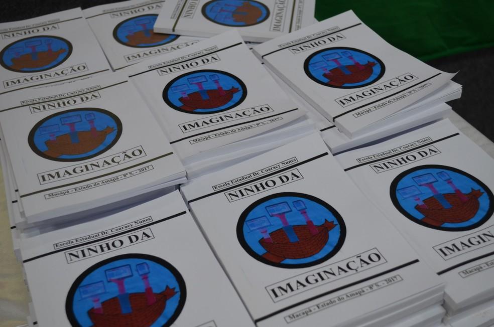 Inspirados pelas aulas de português, alunos de escola pública do Amapá lançam livro de prosas