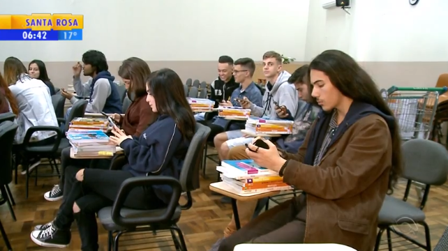 Estudantes de escola pública em Erechim criam aplicativo para a comunidade escolar