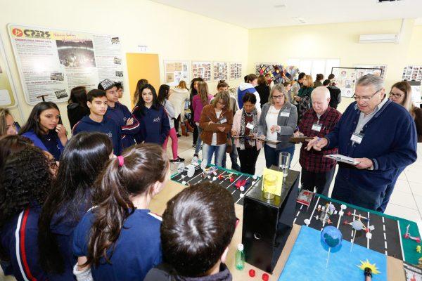 Mostra Pedagógica do CPERS é sucesso no Núcleo de Lagoa Vermelha