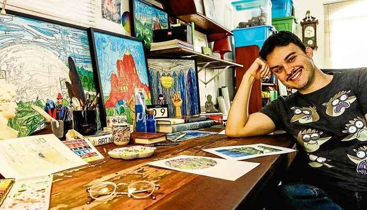 Artista plástico professor da rede pública do DF vai expor obras no Louvre