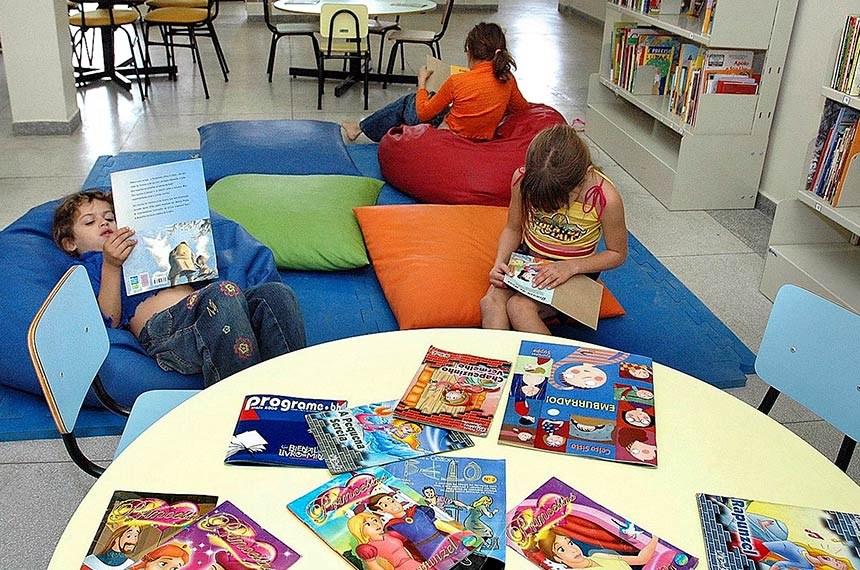 Projeto determina que toda nova escola pública de educação básica tenha biblioteca