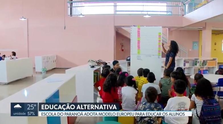 Escola do Paranoá aposta em modelo alternativo de Educação