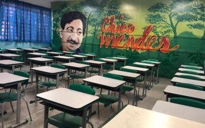 Escola estadual em Guarulhos (SP) faz homenagens a grandes personalidades brasileiras