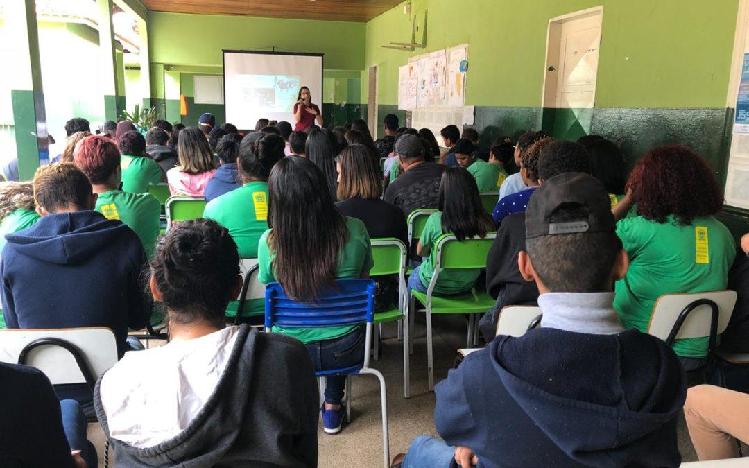 No Dia Mundial da água, Projeto Preservágua vai às escolas públicas
