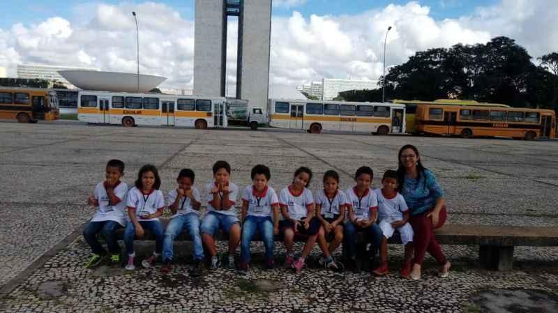 Professores inovam nas aulas sobre o aniversário de Brasília