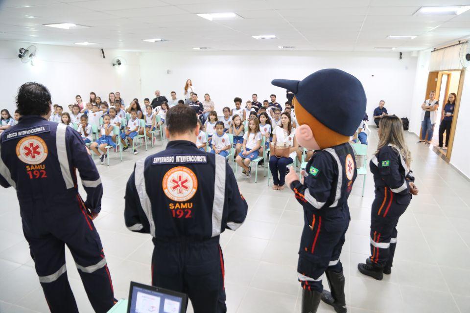 Paraná: Samu retoma projeto ′Samuzinho′ para orientar crianças