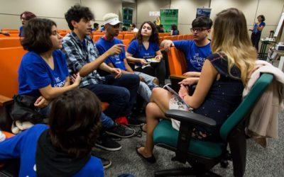 Projeto estimula alunos a criar saídas para problemas diários