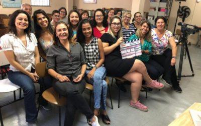 Professores recebem formação em cinema para criar filmes com alunos das escolas municipais do Rio