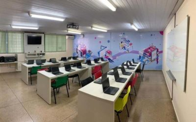 Escola pública em Goiás ganha laboratório com plataforma inovadora do google