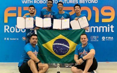 Estudantes do Maranhão conquistam medalhas em mundial de robôs na Coréia do Sul