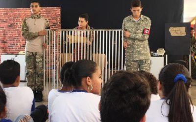 Projeto de escola em Mato Grosso procura disseminar a cultura de paz no ambiente escolar